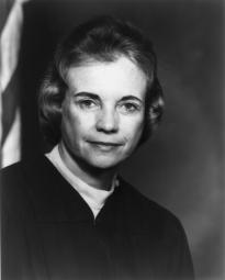 Sandra Day O'Connor, ca. 1982. (Library of Congress Prints and Photographs Div.)