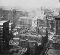 Panorama of Chicago, ca. 1906, Universale View Co., Philadelphia, PA (LOC)