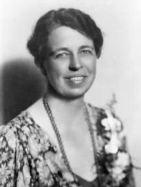 Photograph of Eleanor Roosevelt, July 20, 1933. (Library of Congress Prints and