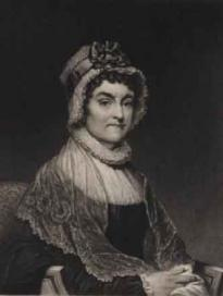 Abigail Adams, engraving by John Sartain, n.d. (Gilder Lehrman Collection)