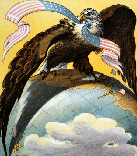 Write an essay discussing American foreign policy in the period between 1890 and 1920?