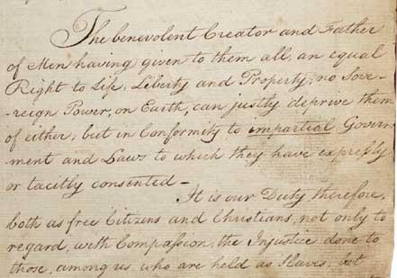 New-York Manumission Society Minutes, February 4, 1785 (New-York Historical Soci