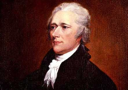 Alexander Hamilton by John Trumbull (New-York Historical Society)