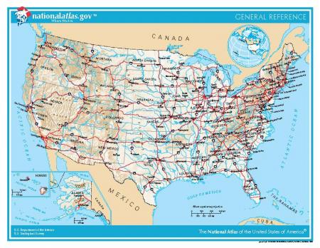 US Naturalization Test Version One The Gilder Lehrman Institute - Incorrect us map