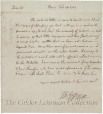 to John Adams re: forwarding letter, affairs in France, Assembly of Notables