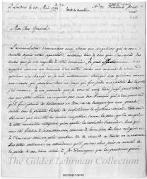 to Henry Knox [in French]