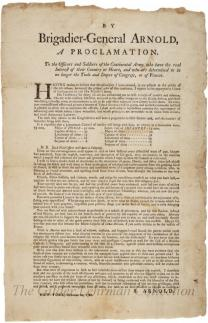 [Proclamation to officers and soldiers of the Continental Army]