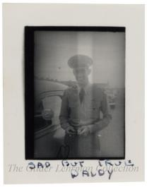 [Box of photographs of marines in World War II]