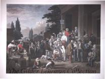 The County election [hand colored engraving, mezzotint and roulette by Sartain]