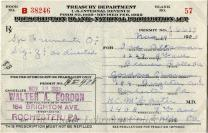 [Treasury Department Prescription Blank - National Prohibition Act]