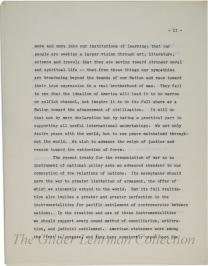 Inaugural Address of President Herbert Hoover