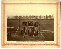 The Execution of Mrs. Surratt and the Lincoln assassination conspirators