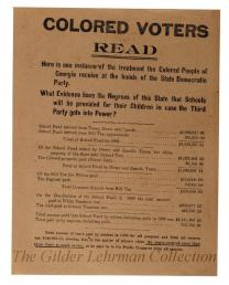 Colored Voters Read