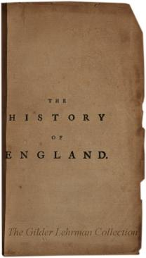 The History of England: from the Invasion of Julius Caesar to the Revolution in 1688.