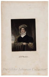 Engraving of Dolley Madison