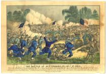 The Battle of Gettysburg, PA, July 3d 1863.