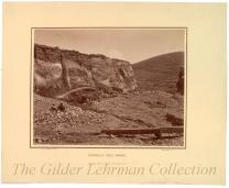 Hydraulic Gold Mining, Alder Gulch near Virginia City