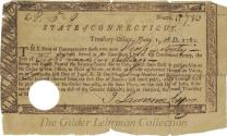 Revolutionary war pay warrants