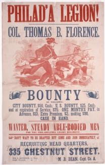 Philad'a Legion! Col. Thomas B. Florence [recruitment broadside]