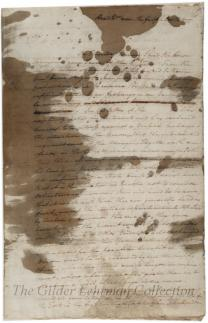 to Henry Laurens re: skirmish with Cornwallis and parole of Burgoyne