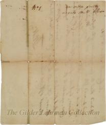[Document authorizing the distribution of confiscated slaves from Tory plantations to veterans of the Revolution]