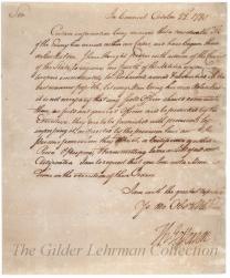 to Lieutenant of Berkeley Co. re: arrival of British troops & mobilizing militia