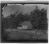 Dunker Church at Antietam battlefield, taken after battle damage has been repaired.