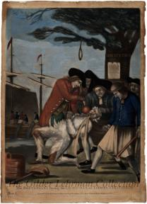 The Bostonian's Paying the Excise-man, or Tarring & Feathering