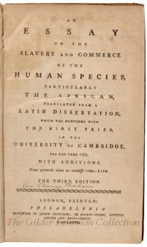 An Essay on the Slavery and Commerce of the Human Species.../by Thomas Clarkson
