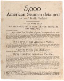 5000 American Seamen detained on board British vessels!