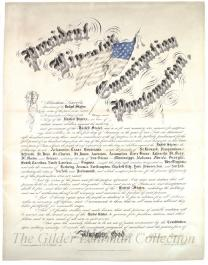 Emancipation Proclamation [California printing, Cheesman copy]