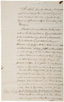 [New Jersey plan]: Resolved that the Articles of Confederation.... [partial]